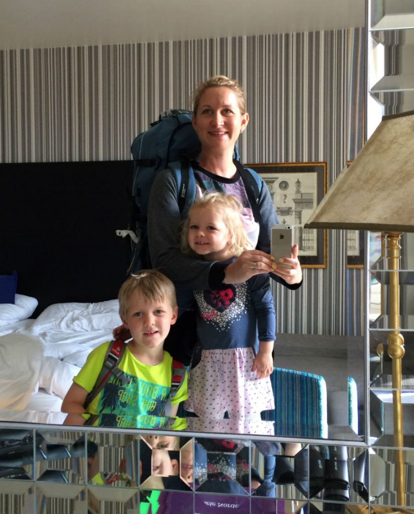 Norway in a Nutshell DIY Back packing with kids
