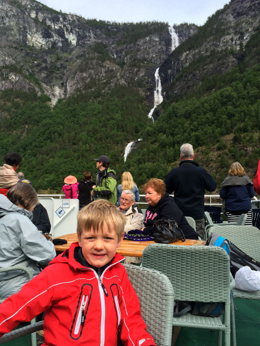 Norway in a Nutshell with Kids.