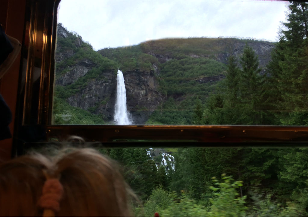 Norway in a Nutshell DIY. Norway in a Nutshell with kids. The Flam railway is one of the rail journeys in the world.
