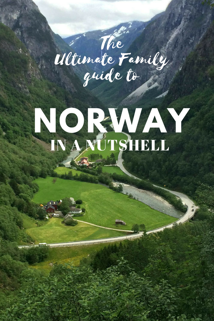 Norway in a Nutshell with Kids. The ultimate guide for families.