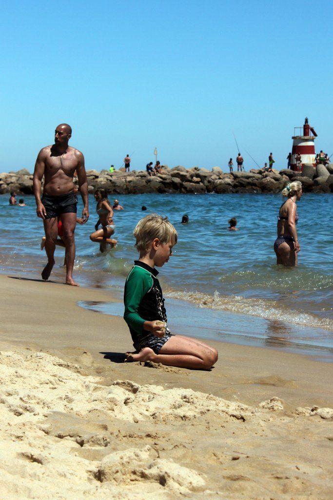 Visit this beach in Portugal. Tavira Island.