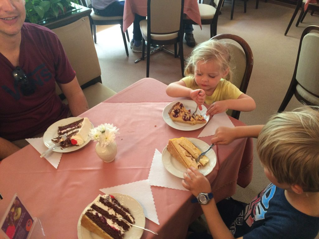 8 of the best things to do in the Black Forest with kids. Black Forest Cake in a cafe in Triberg, Germany