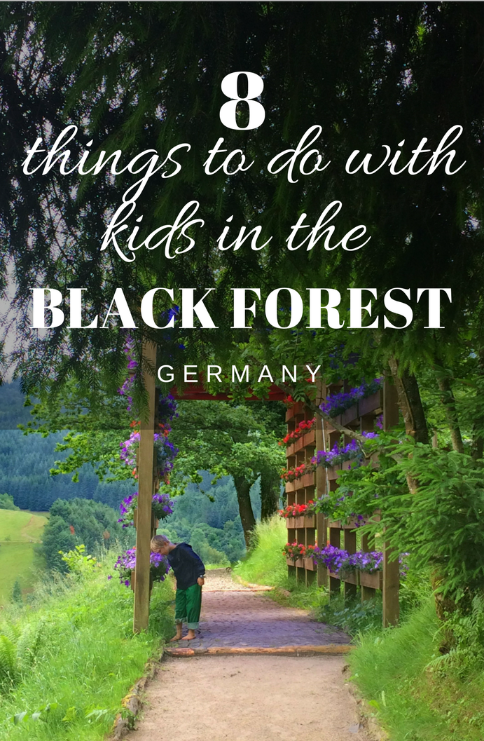 8 things to do in the Black Forest with kids. The perfect weekend or longer getaway family holiday in Germany. #travelwithkids #familytravel #germany
