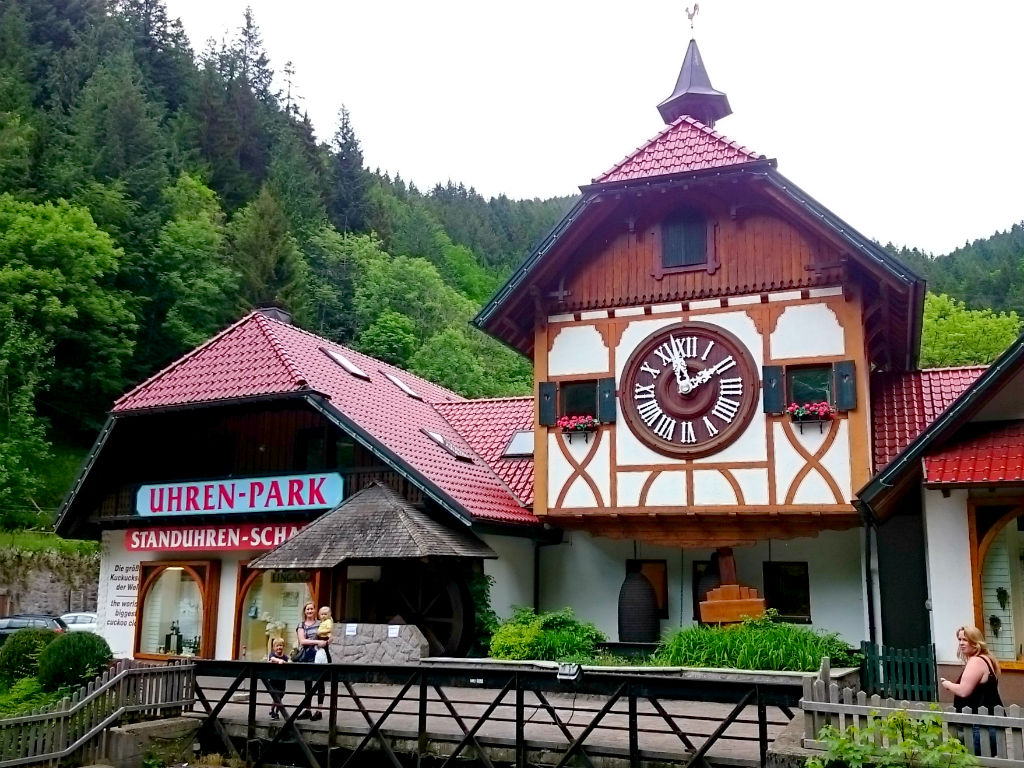 Black forest Family holiday. Visiting the Worlds largest Cuckoo clock. 8 Things to experience in the Black Forest with kids.