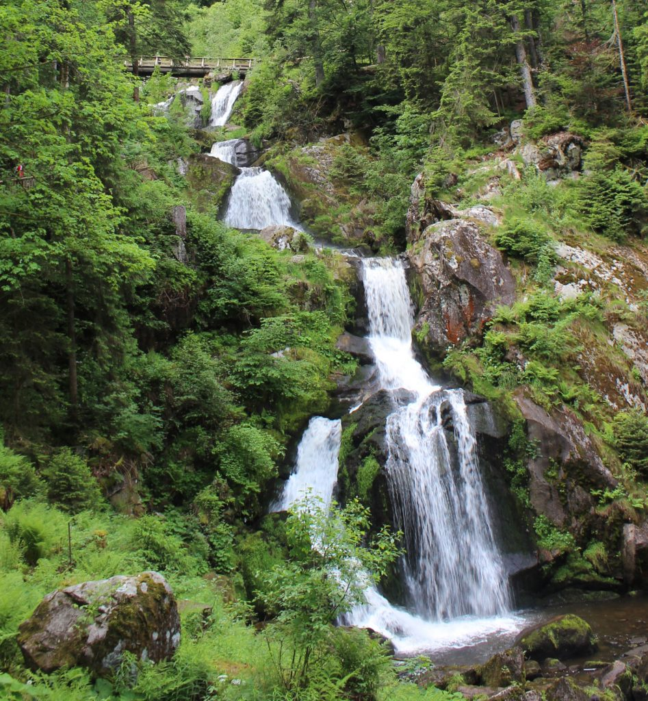 8 Things to experience in the Black Forest with kids. Germany's largest waterfall.