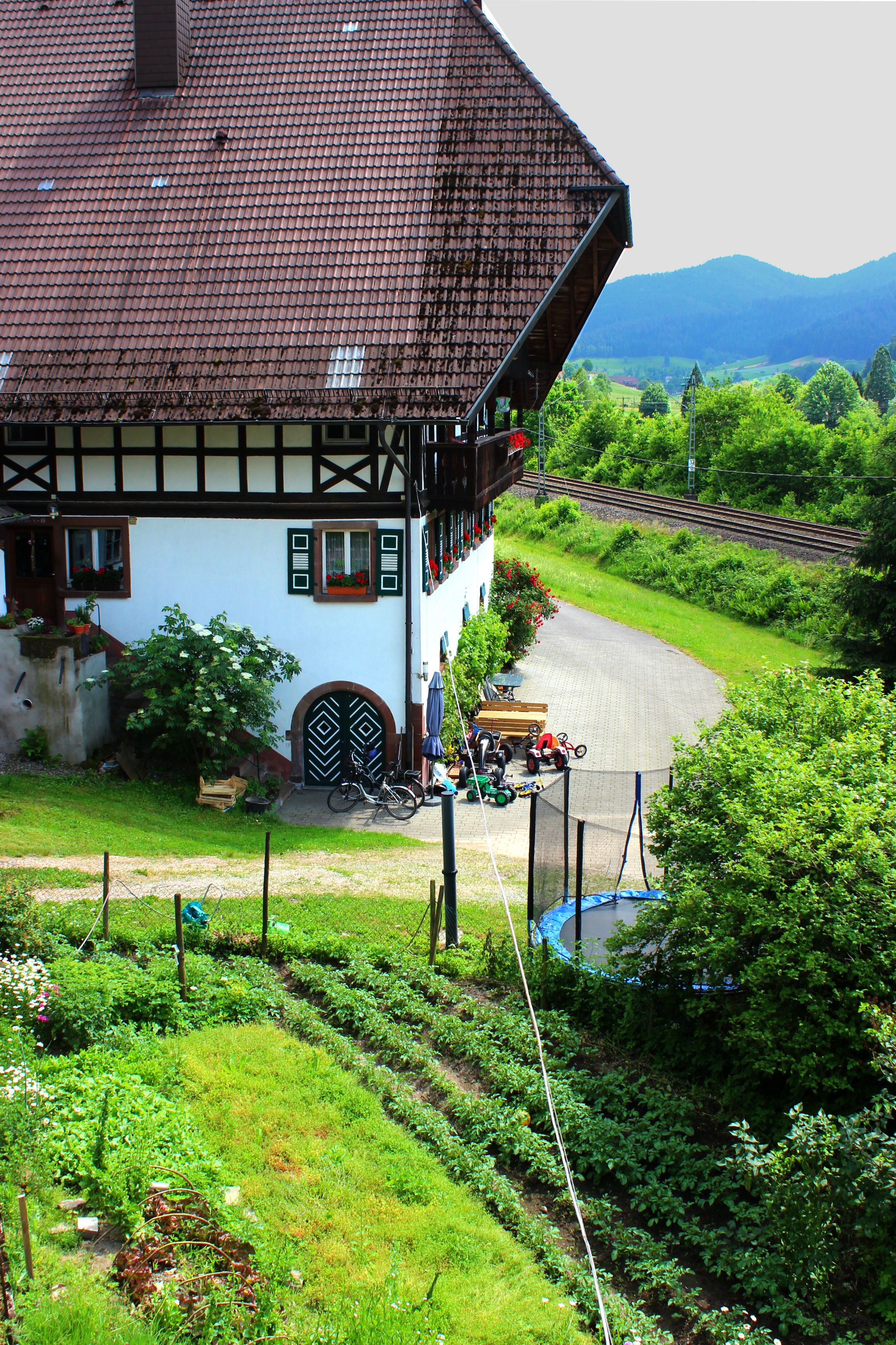 8 Things to experience in the Black Forest with kids. Stay at a farm stay.