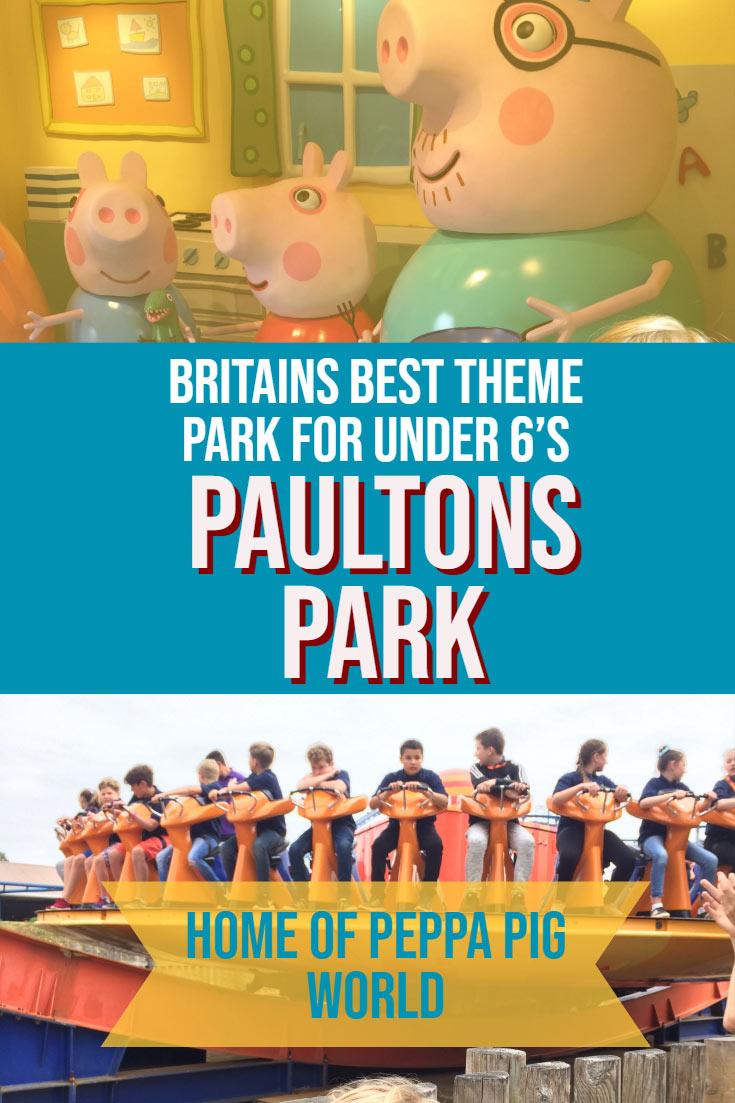 Britain S Best Family Theme Park Paultons Park Home Of Peppa Pig