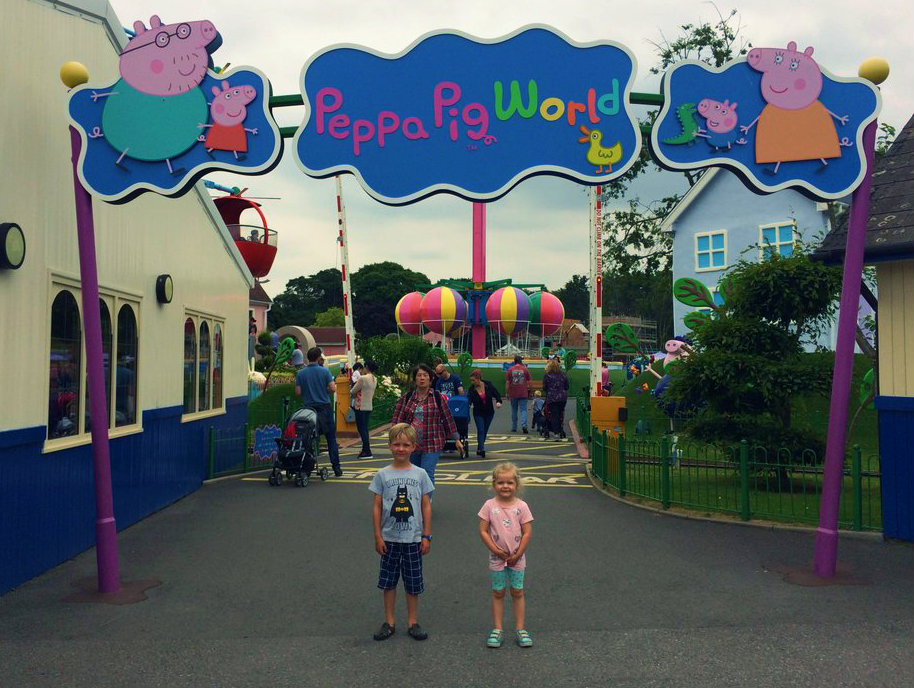 What Age To Visit Peppa Pig World And Paultons Park Is A
