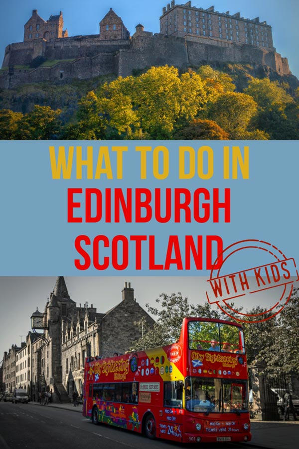 Are you lucky enough to visit Edinburgh with kids and wondering what to do. Here is some of the best that Edinburgh has to offer. Pick the best for your own 1-day itinerary or spread it out over a long weekend. Scotland is a great family destination. #UK #Scotland #Travel #travelwithkids