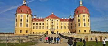 Dresden Steam Train to Moritzburg Castle. HappinessTravelsHere.com