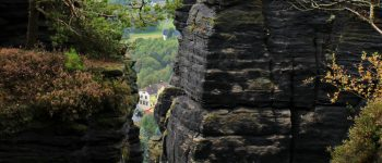 Visit the Rock Town Czech Republic a great for Hiking in Bohemian Switzerland National Park with Kids.