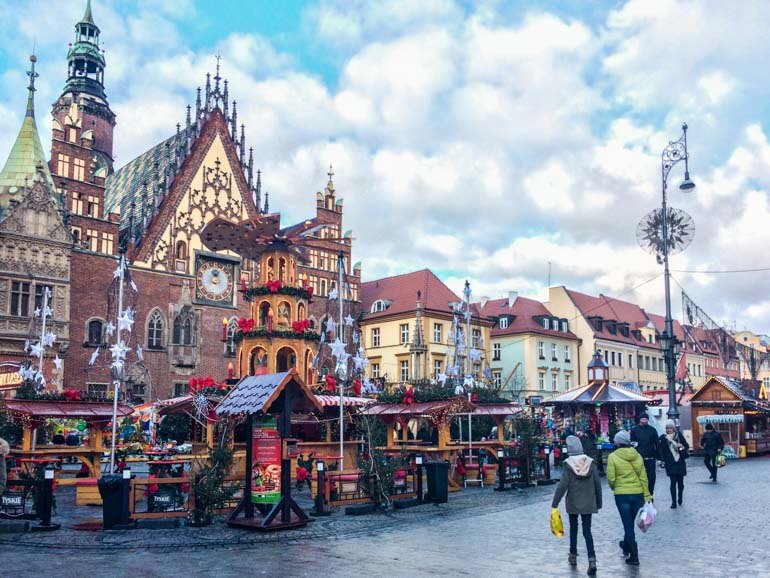 Wroclaw Christmas Market travel with kids, family travel