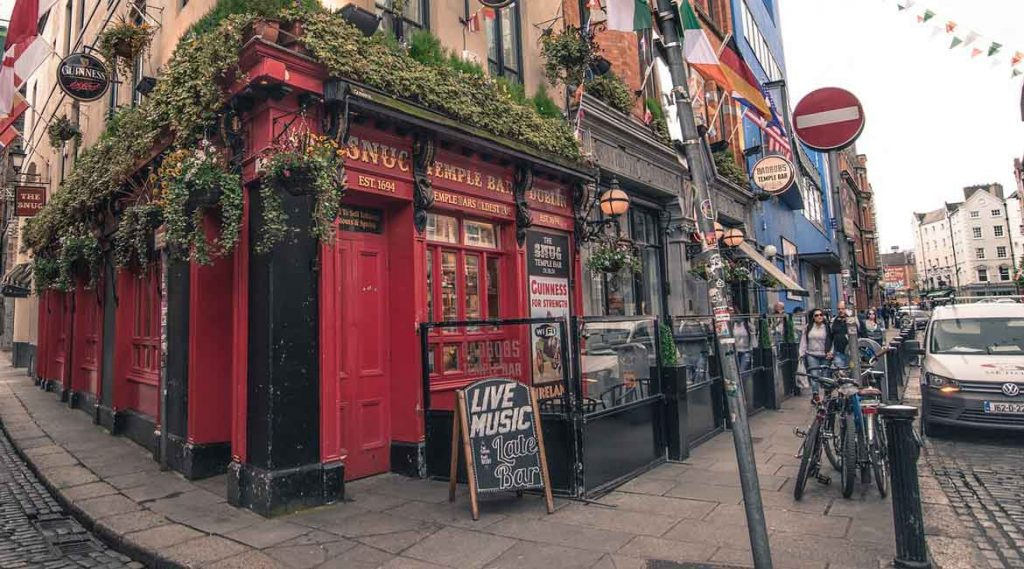 Dublin is a great spot to visit for your first trip abroad.