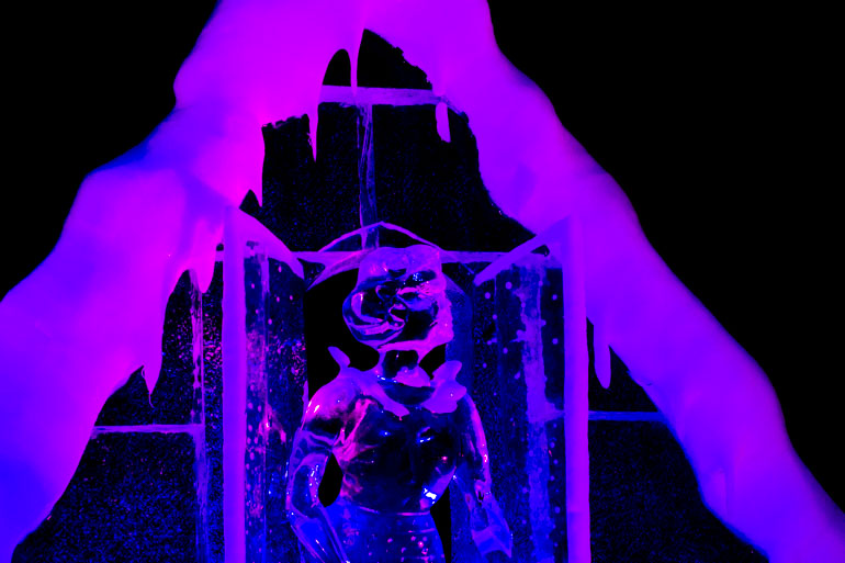 Eiswelt Dresden Ice Sculpture Exhibition