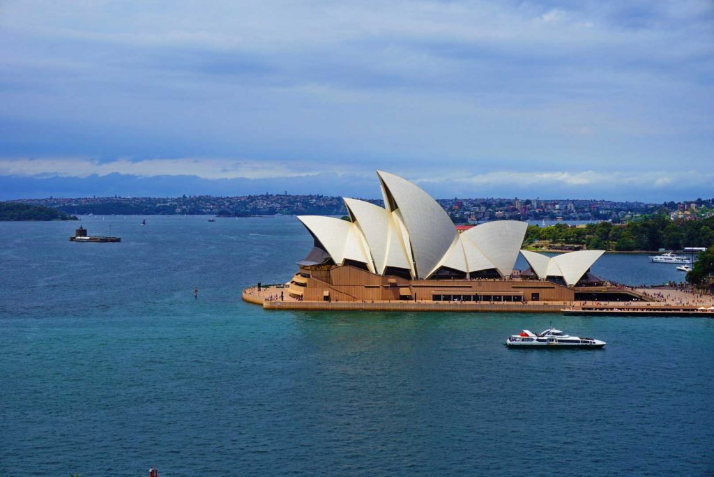 Sydney is a great destination. 18 Destinations for first time travellers.