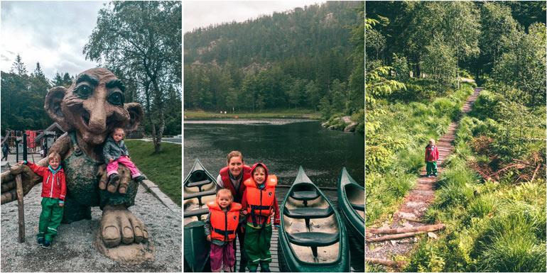 Bergen, Mount Floyen, Troll Forest