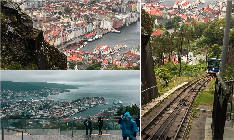 Bergen Funicular with kids. What to do in Bergen
