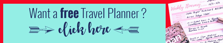 Travel planner download button