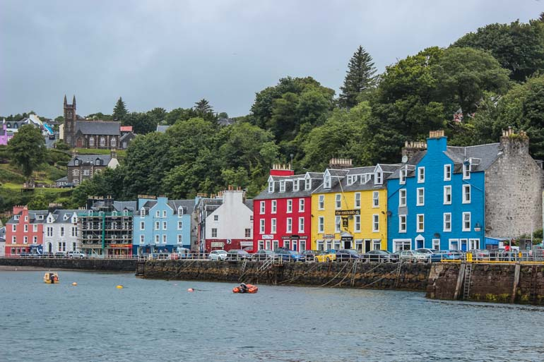 Visit Tobermory on the Isle of Mull as part of your Scotland Road trip itinerary
