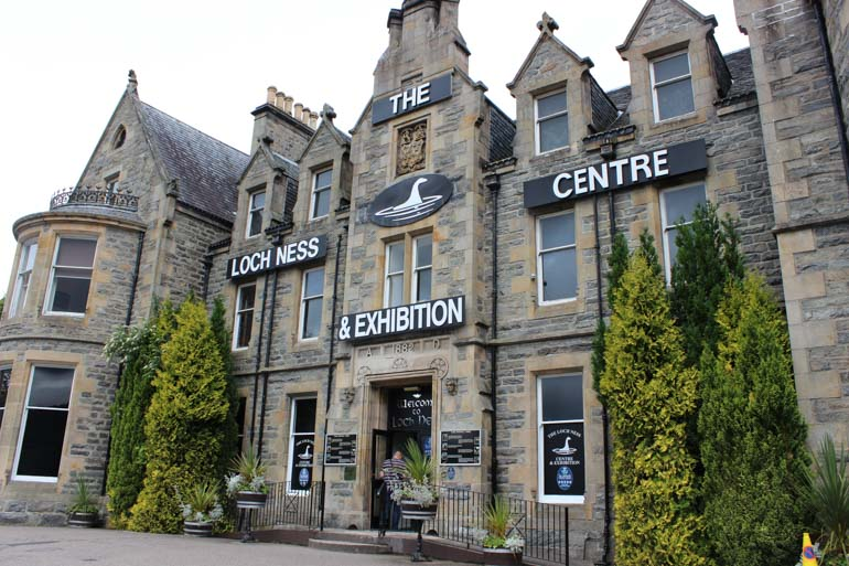 Loch Ness Discovery Centre in Scotland