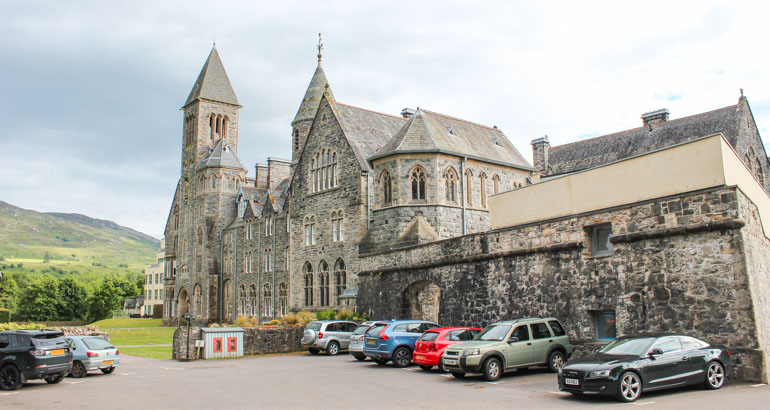 The Abbey is a great place to stay for families or groups visiting Fort Augustus
