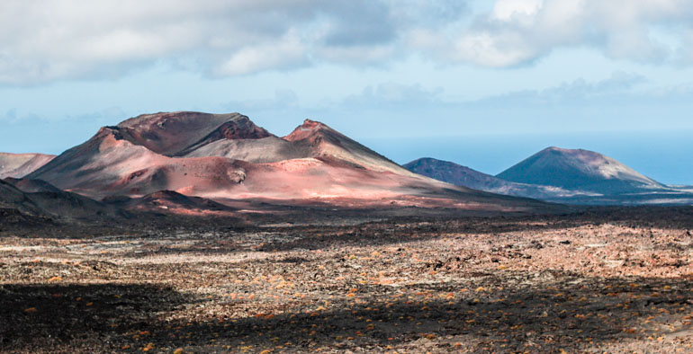 Timanafaya National Park was was of our favourite things to see on our trip to Lanzarote, the volcanic landscape is like visiting Mars.