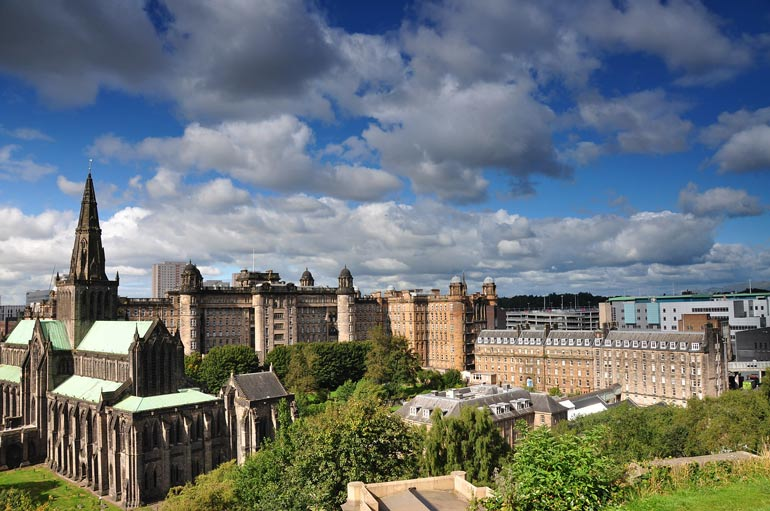 Glasgow City is another great spot to visit on your Scotland family holiday