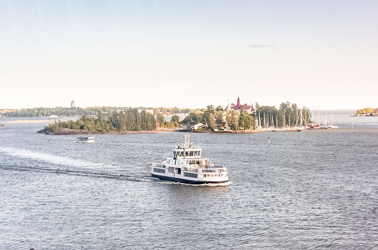 Helsinki Harbour Ferry Baltic Cities Cruise Excursion Helsinki Port Guide