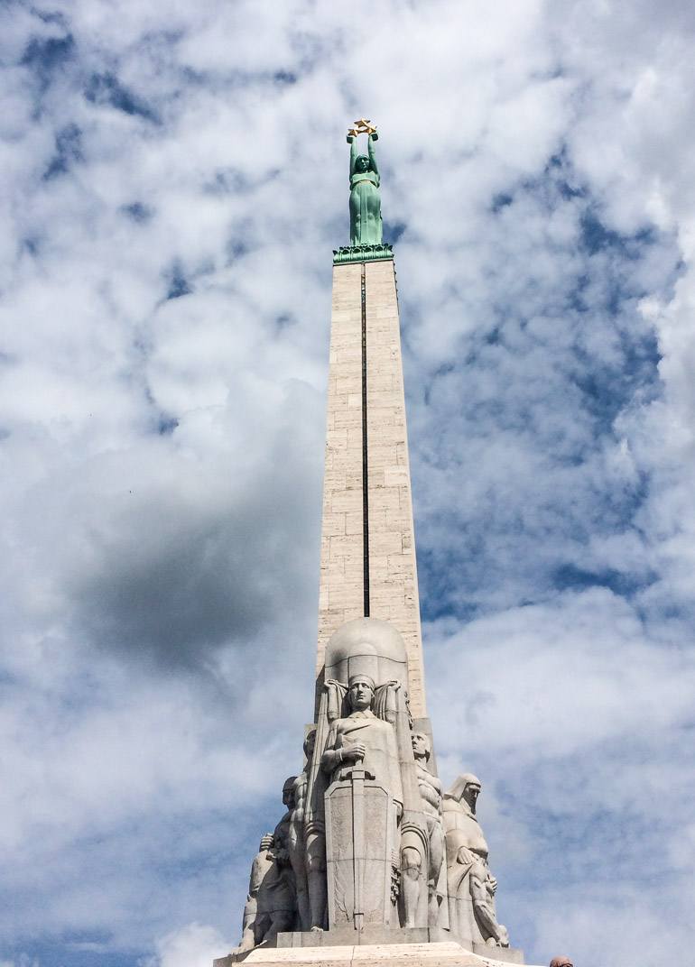 Riga Latvia Cruise guide Freedom Monument