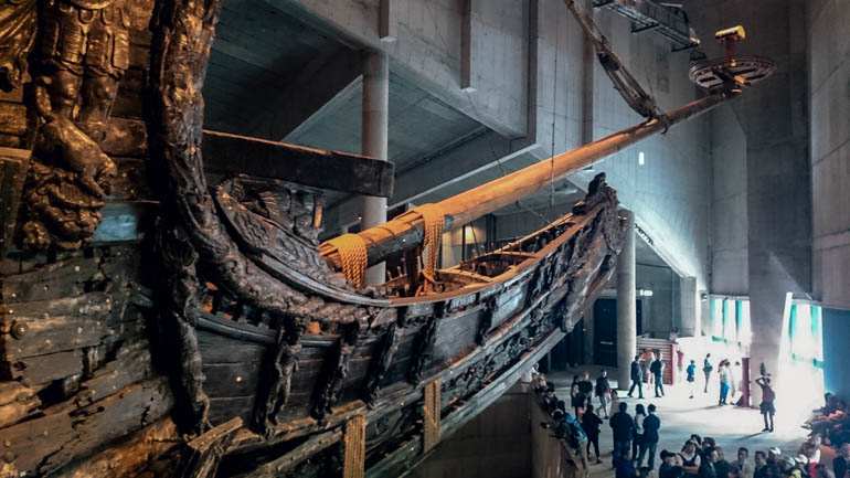 Stockholm Cruise excursion day trip to Vasa Museum