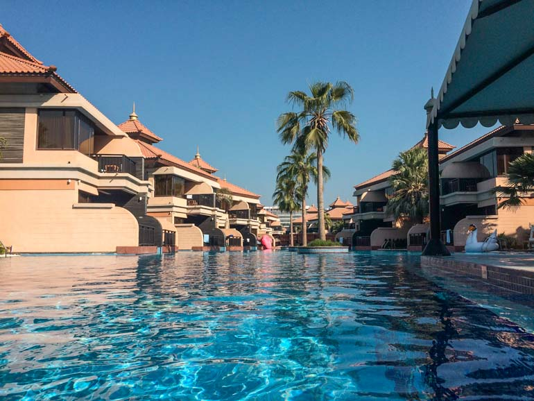 Anantara resort on the Palm in Dubai