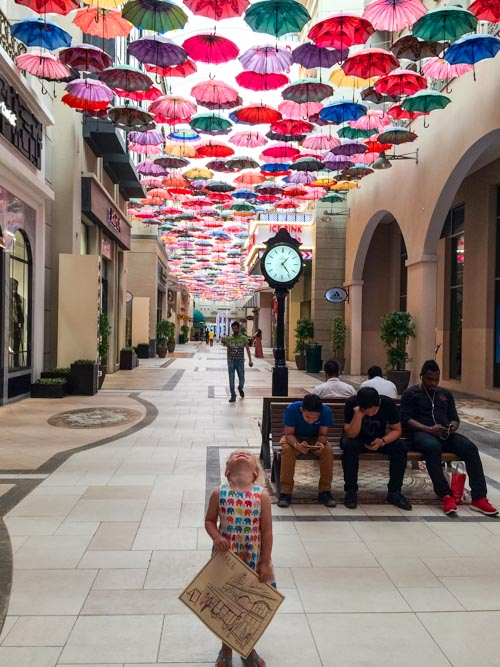 Dubai Mall is a fantastic place to visit with kids.