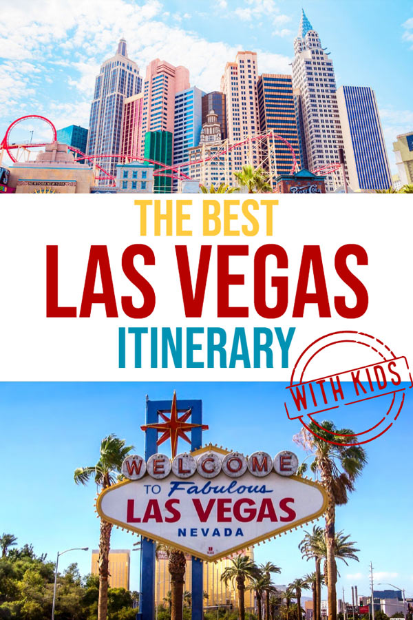 Las Vegas is one of the USA's most family-friendly destinations. There is plenty to see and do in Las Vegas with kids. Check out this post to start planning your Las Vegas vacation now. #Travel #USA #Familytravel