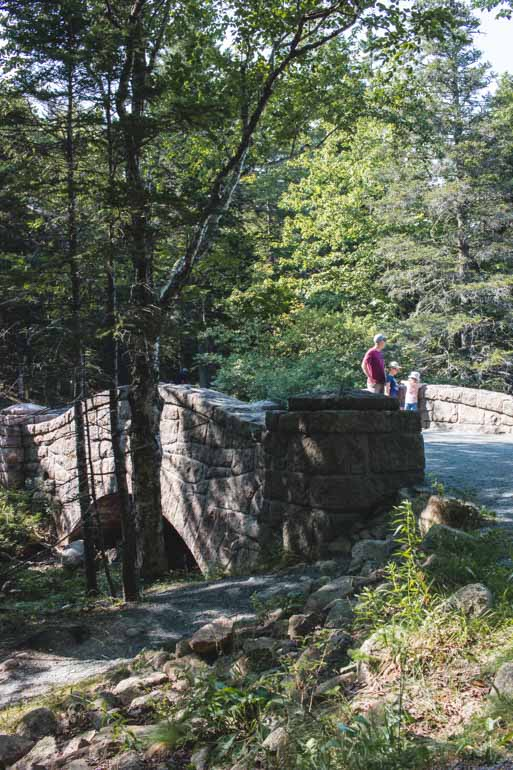 Carriage roads in Acadia National Park, Stone bridges.
