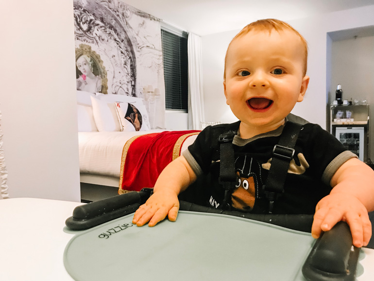 Where to eat in Las Vegas with a baby