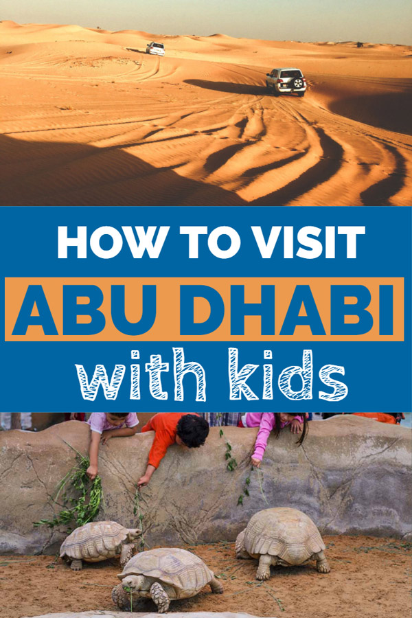 Visit Abu Dhabi with kids