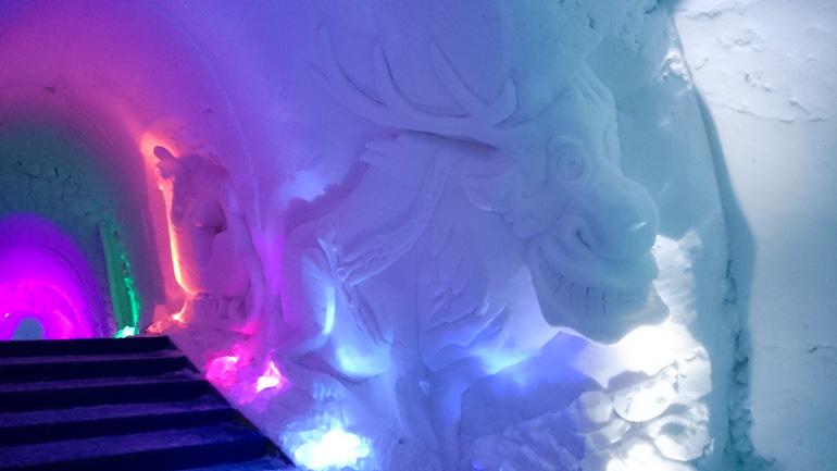 Ice Hotel near Levi